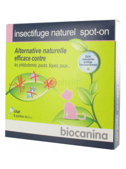 Biocanina - Insectifuge Naturel - Chat