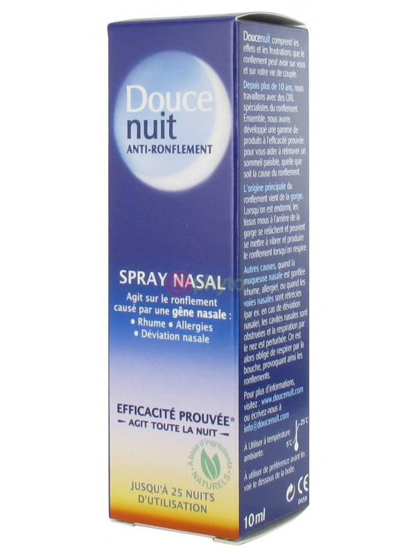 Douce Nuit - Spray Nasal - Anti-Ronflement