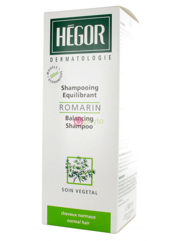 Hégor - Shampooing Romarin Cheveux normaux