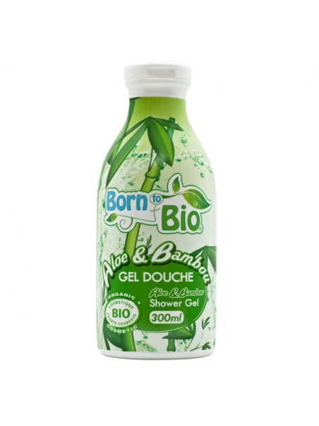 Born To Bio - Gel Douche Bio - Aloe & Bambou