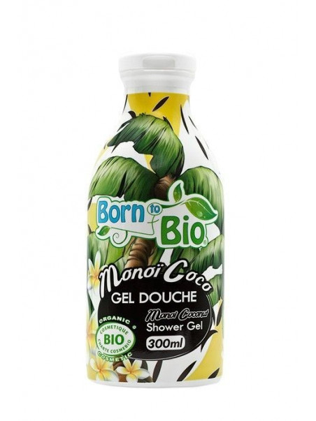 Born To Bio - Gel Douche Bio - Monoi & Noix de Coco