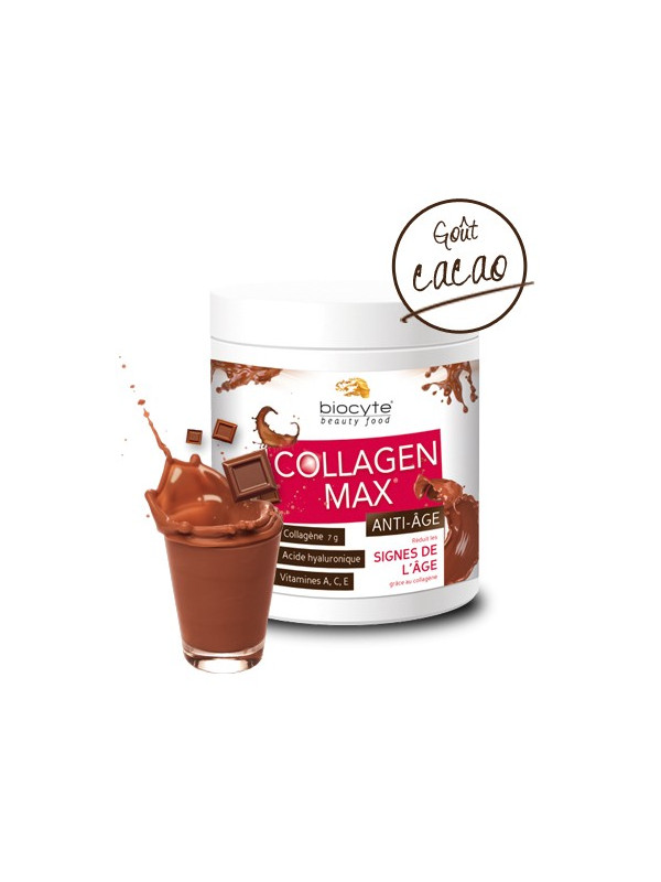 Laboratoire Biocyte - Collagen Max Anti-Age - Goût Cacao 260g